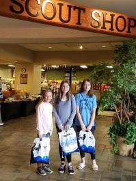 scout shop girls