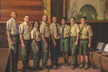 troop line