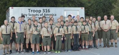 troop trailer